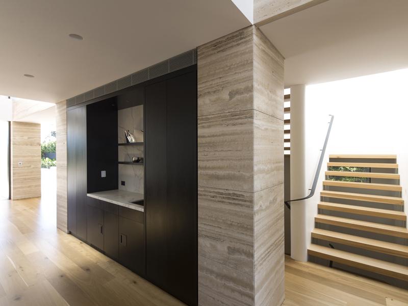 Engineered American Oak Flooring with Solid American Oak Stairs