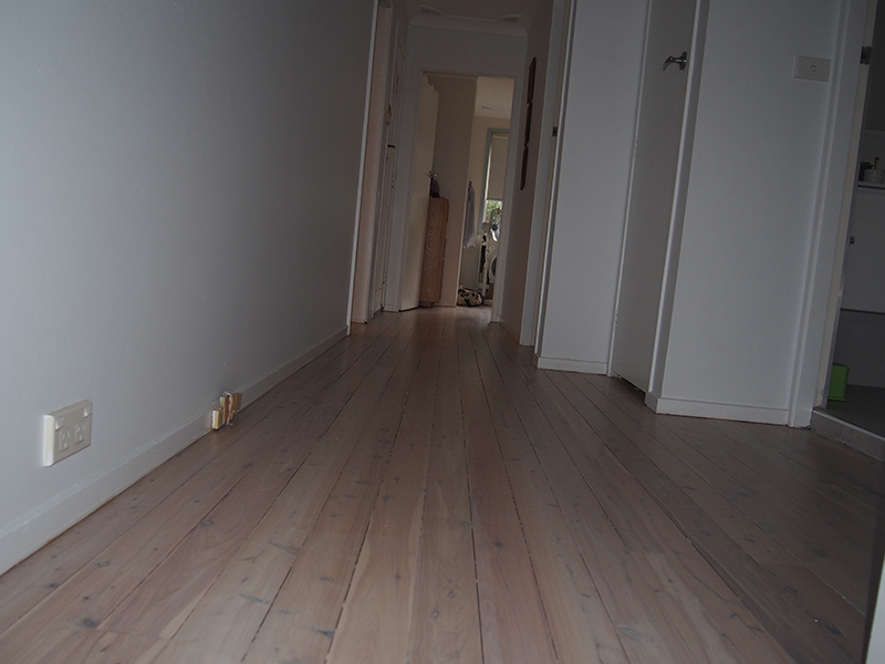 Resanding Of An Existing Cypress Pine Floor